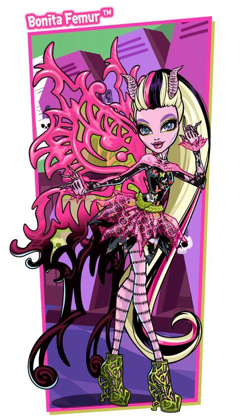 Bonita femur monster high animation pinterest posts - Monster high bonita ...