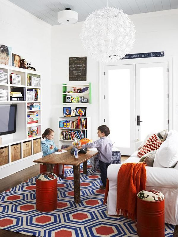 kids plaroom design ideas 35 Adorable Kids Playroom Ideas