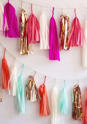 Cheerful Tassel Garland: