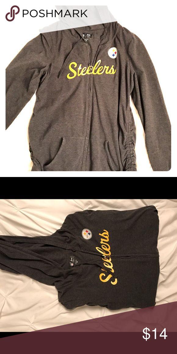 Steelers. Pregnancy zip-up hoodie. Pregnancy steelers. NFL zip-up hoodie Motherhood Maternity Other