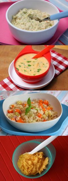 23 baby recipes suitable from 7 months