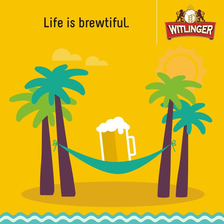 Sit back, chill and reflect on life with a cool Witlinger Wheat Ale. #Witlingerbeer #Wheatbeer #Craftbeer