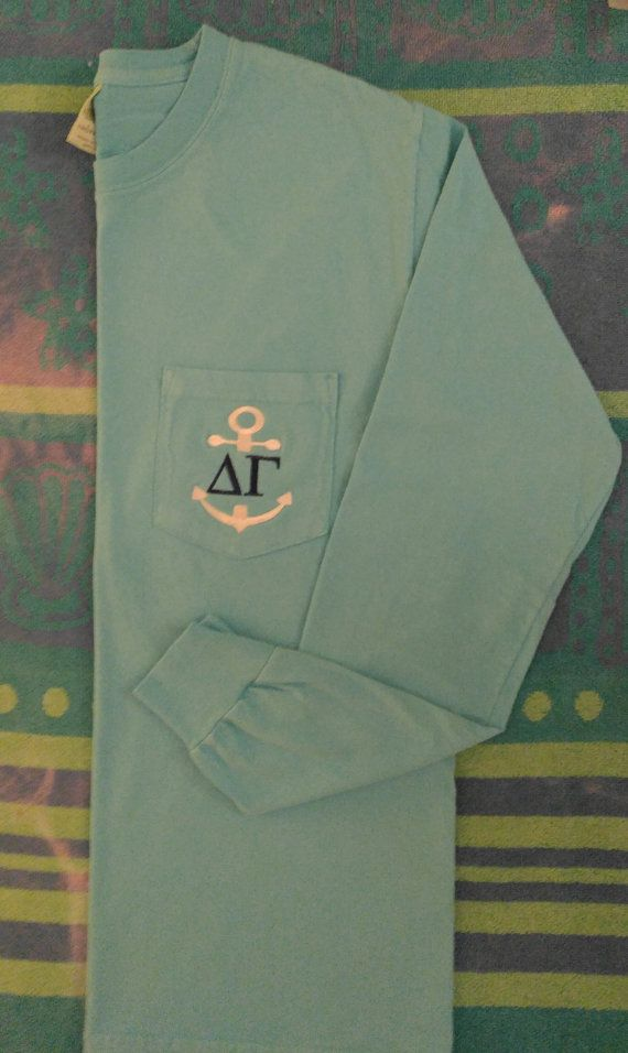 Check out this item in my Etsy shop https://www.etsy.com/listing/487159558/delta-gamma-anchor-sorority-shirtslong