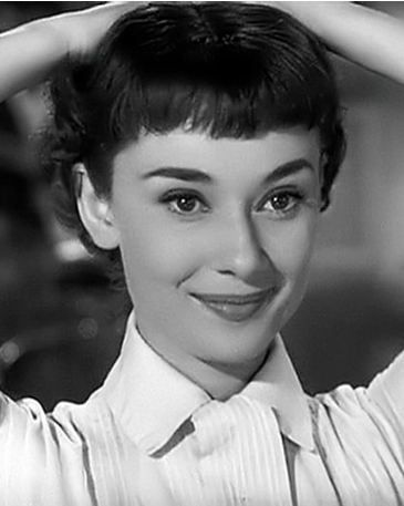 "Audrey in her very first leading film ""Roman Holiday"" ♥️ my absolute favorite.    4"