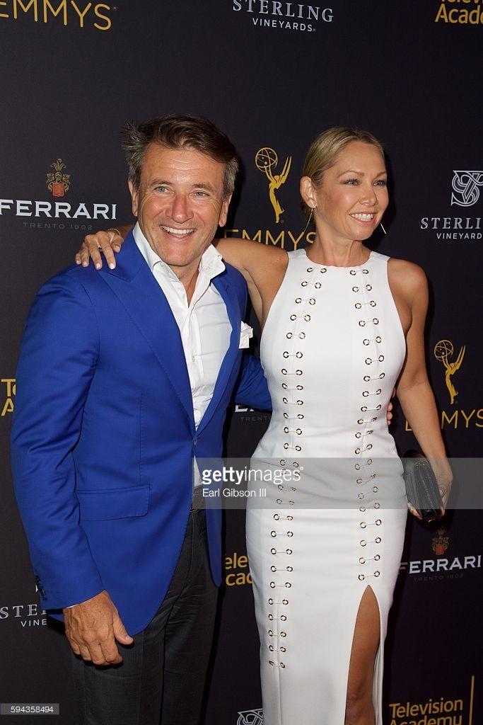 TV Personality/Businessman Robert Herjavec and dancer Kym Johnson attend the…