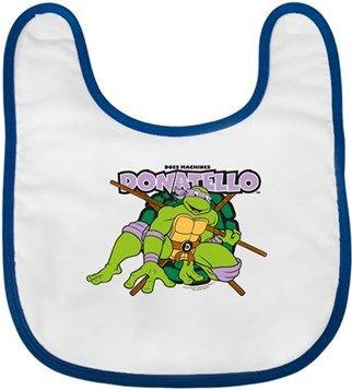 Ninja Kaplumbağalar - Donatello Kendin Tasarla - Bebek Önlüğü