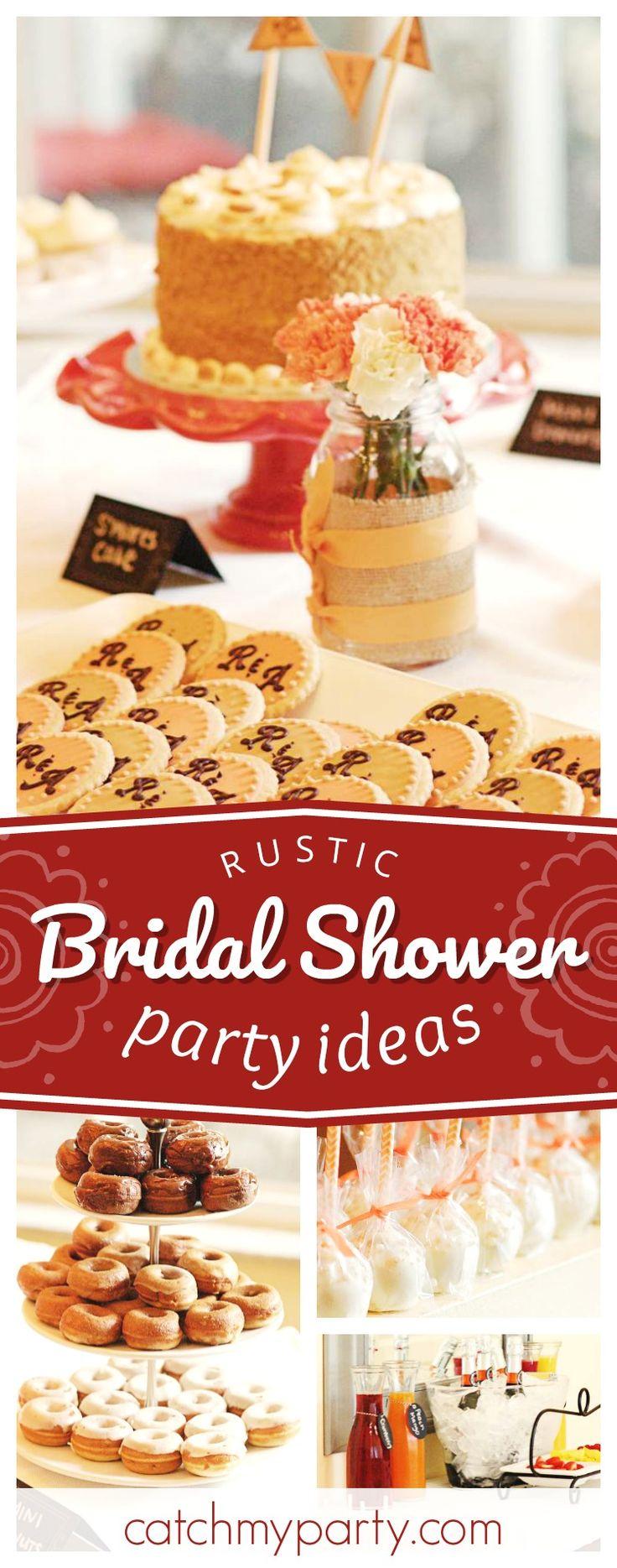 finger food ideas for bridal shower%0A Pretty Rustic   Bridal Wedding Shower   Mimosa Bar Brunch Shower