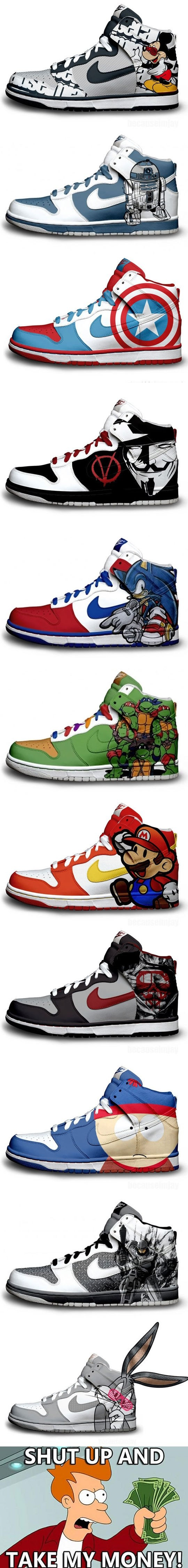 Awesome, cool Nike Sneakers
