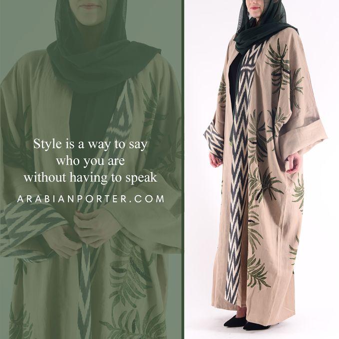 Trendy Abaya collection from Moja Majka ! Shop Now at Arabianporter.com  #Abayas #Mojamajka #Luxury #Fashion #Qatar #Dubai # Kuwait #Bahrain # Saudiarabia #Arabianporter