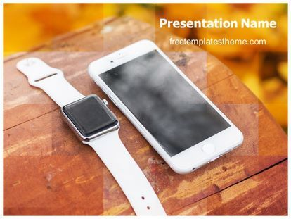 17 best computer and internet free powerpoint ppt templates images get free iphone smart watch powerpoint template and make a professional looking powerpoint presentation in iphone smart watch powerpoint template ppt toneelgroepblik Images