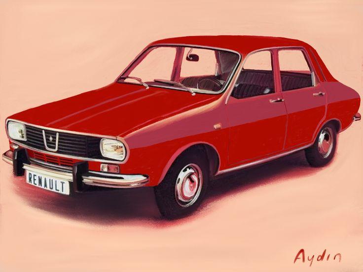 Renault 12, recreated by Aydin Turken