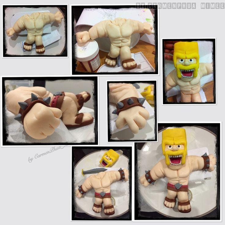 clash of clans cake clash royale cake cake design refrigerator cake ...