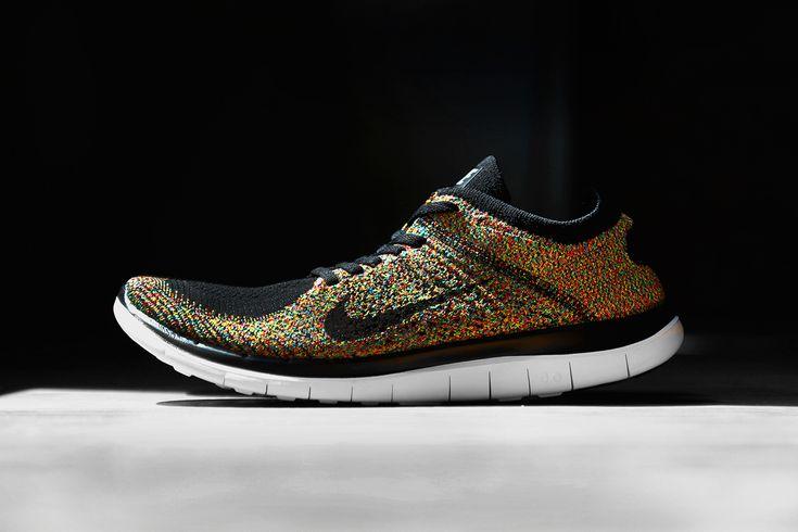 Nike Flyknit 4.0 Mens Multicolor