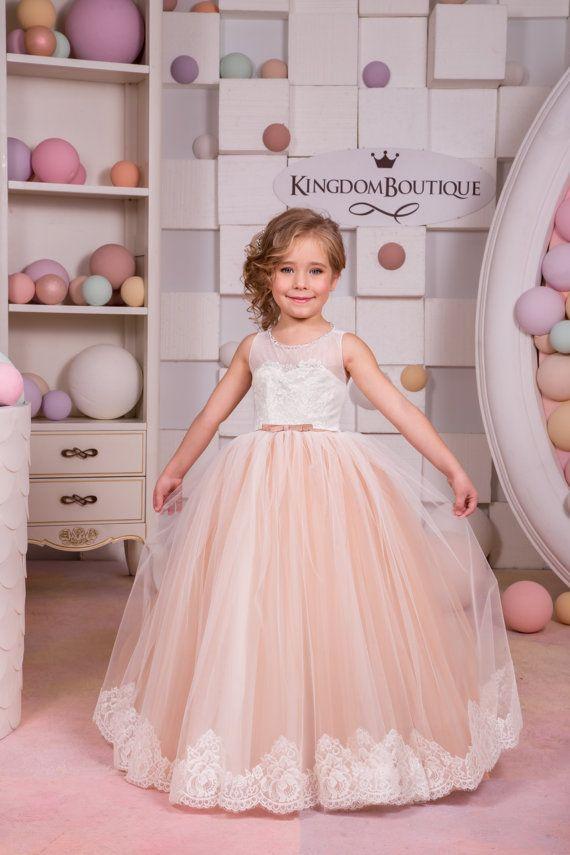11 best formal flowergirl dress images on Pinterest | Children dress ...