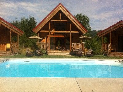 1000 ideas about pool spa on pinterest pools outdoor for Cottages at camp creek