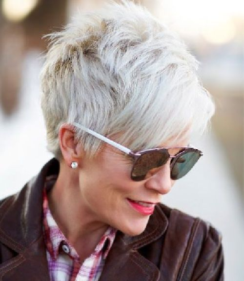 Short Hairstyles for Women Over 60 with Thin Hair Bing
