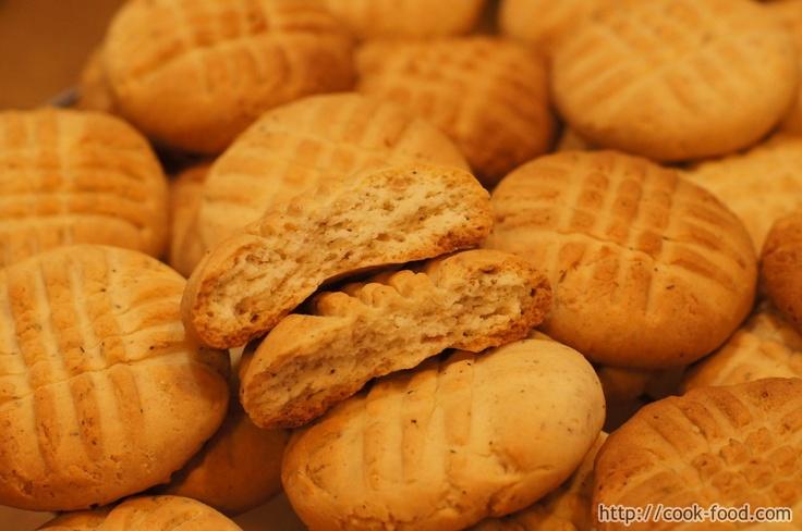 Мятное печенье на сгущенном молоке