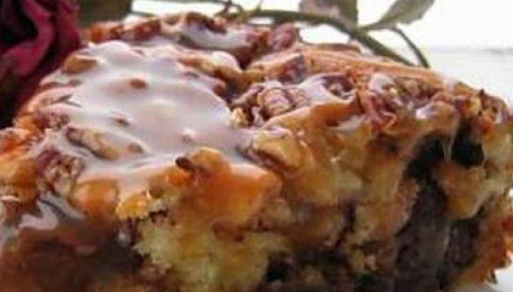Recette : Gâteau Caramilk.