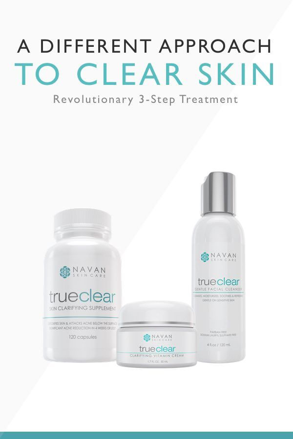 Looking for an affordable and safe way to clear your skin? TrueClear is the answer. By utilizing quality natural ingredients, our simple 3-Step Treatment helps clear and prevent moderate to sever pimples & breakouts. Click Here to learn more...