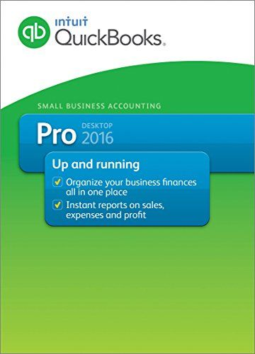 QuickBooks Pro 2016 Small Business Accounting Software 3-User