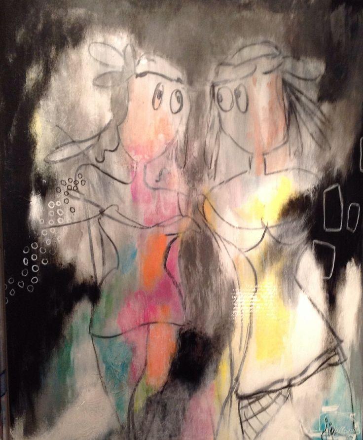 maleri , art ,canvas , acryl på lærred