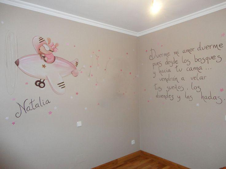 Pintura arboles decoracion infantil buscar con google - Decoracion cuarto bebe ...