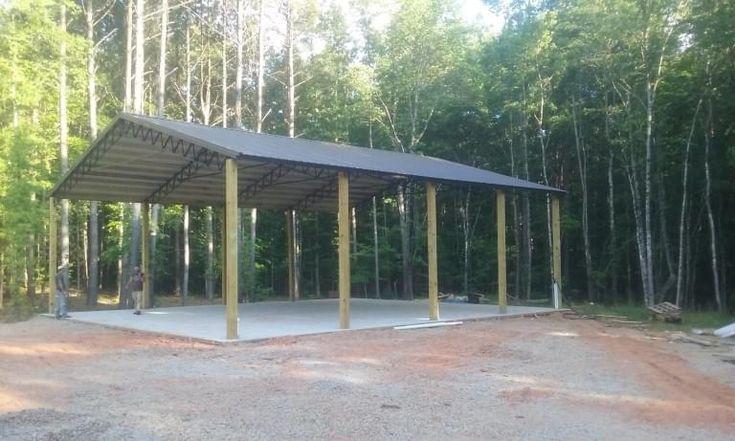 Pole Barns - R & B Portable Solutions | Barn, Run in shed ...