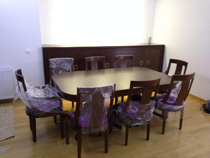 Custom Dinner table and Closet