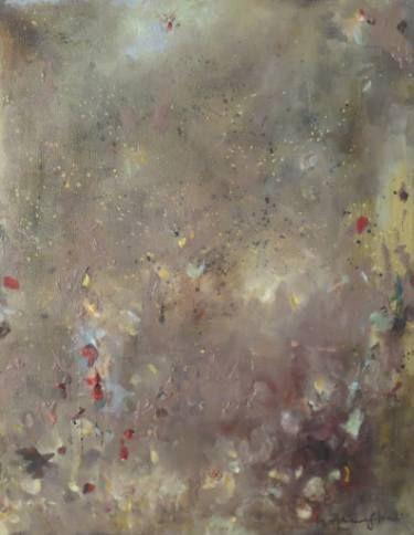 "Saatchi Art Artist ADRIENNE SILVA; Painting, ""Light my Night"" #art"