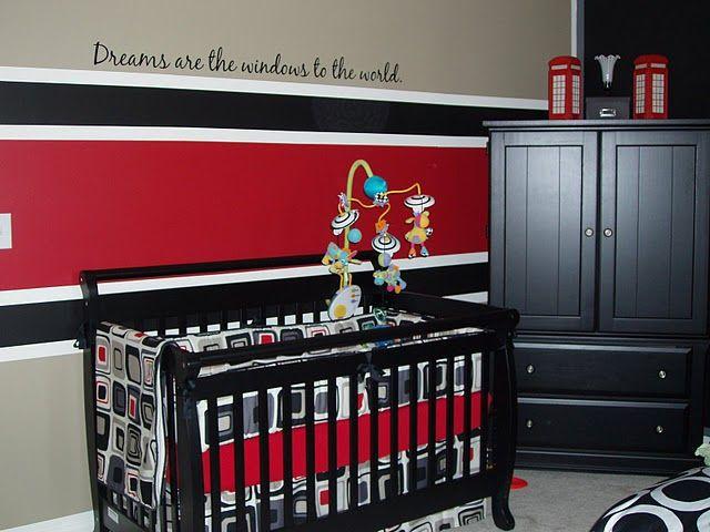 Red Baby Boy Nursery