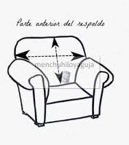 Resultado de imagen para como medir un sillon para funda