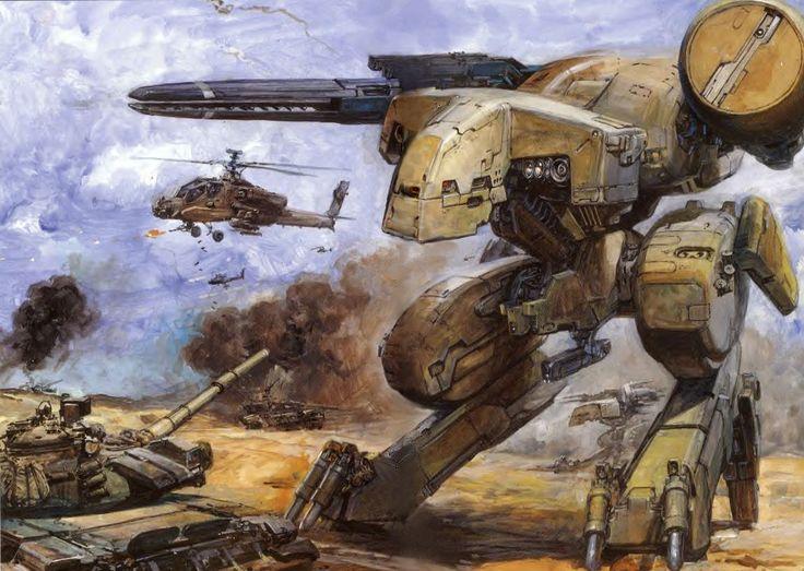 Metal Gear REX---- What's NeXt .. EXOSkeleton | ImaGine What-s NeXt