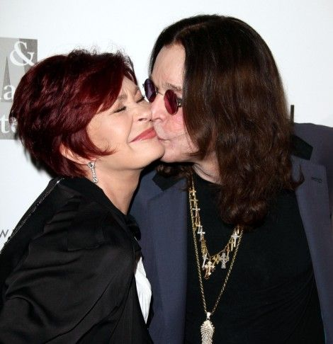 Ozzy Osbourne And Sharon Osbourne Rekindle Romance On Beverly Hills Lunch Date!