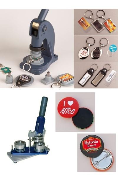 Chapas, Imanes y Llaveros - Kit completo para hacerlos - Chapas Promocionales | Máquinas para hacer Chapas | Chapas Personalizadas | Chapas | Pins