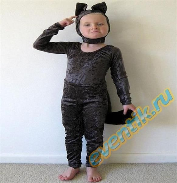 Детский костюм волка сами