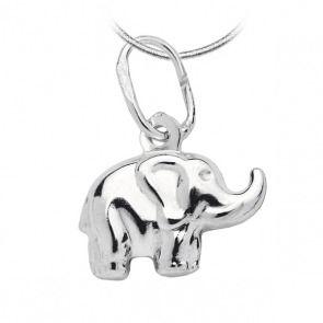 Srebrny wisiorek słonik - Biżuteria srebrna dla każdego tania w sklepie internetowym Silvea