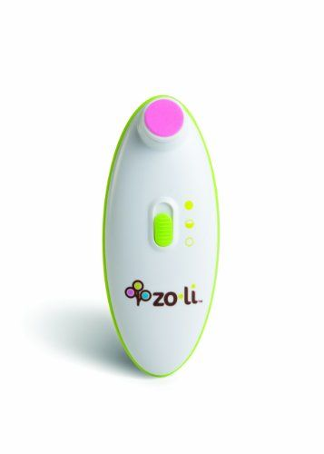 Zo-li Buzz B. Baby Nail Trimmer - Make baby mani-pedi sessions easier for both of you, with this electric baby nail file! It's super gentle, and unlike conventional baby nail clippers, it can't accidentally snip delicate skin. Best of all: it include