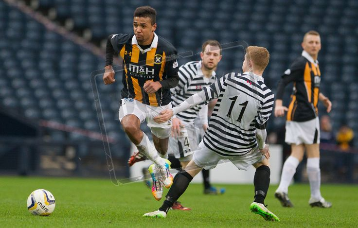 East Fife's Nathan Page on the ball during the SPFL League Two game between Queen's Park and East Fife.
