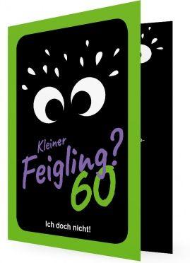 Einladungskarten 60. Geburtstag, viele Augen auf Schwarzen Hintergrund