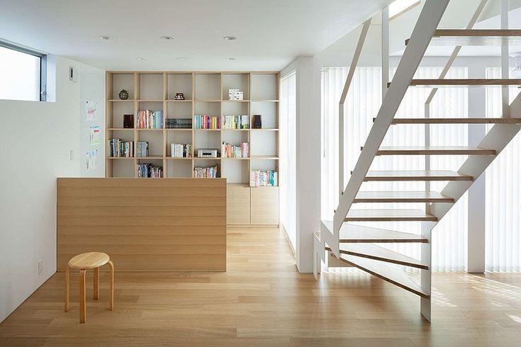House K by Yuji Kimura Design | Home Adore bookcase living room