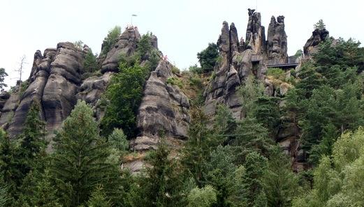 Nonnenfelsen im Zittauer Gebirge
