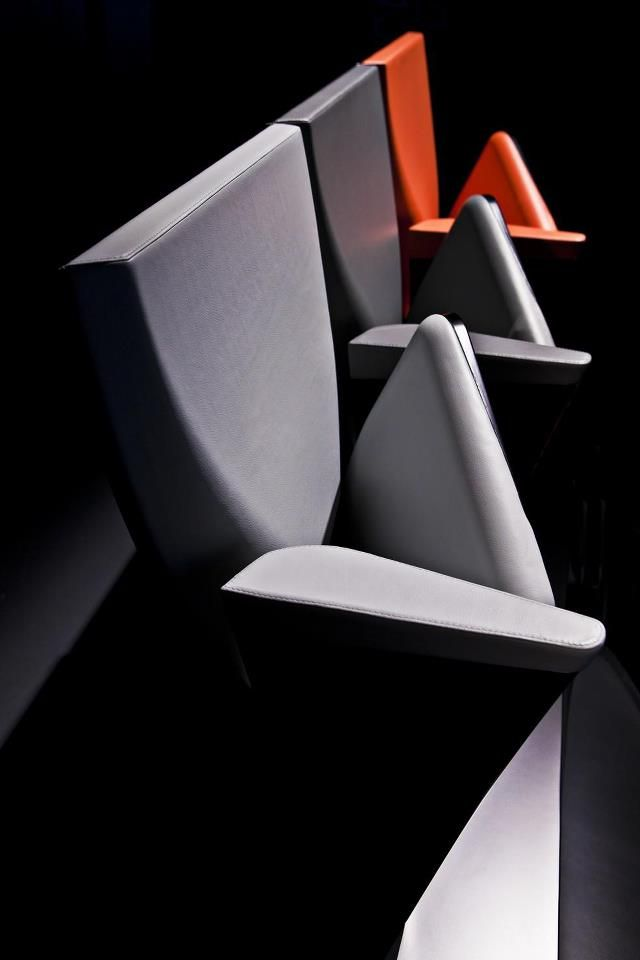 Auditorium Seating by Zaha Hadid http://www.archello.com/en/product/array-auditorium-seating