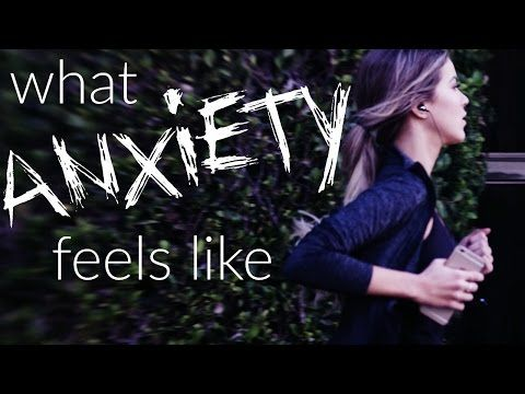 3 videos that describe what it feels like to have anxiety and depression when our own words don't suffice