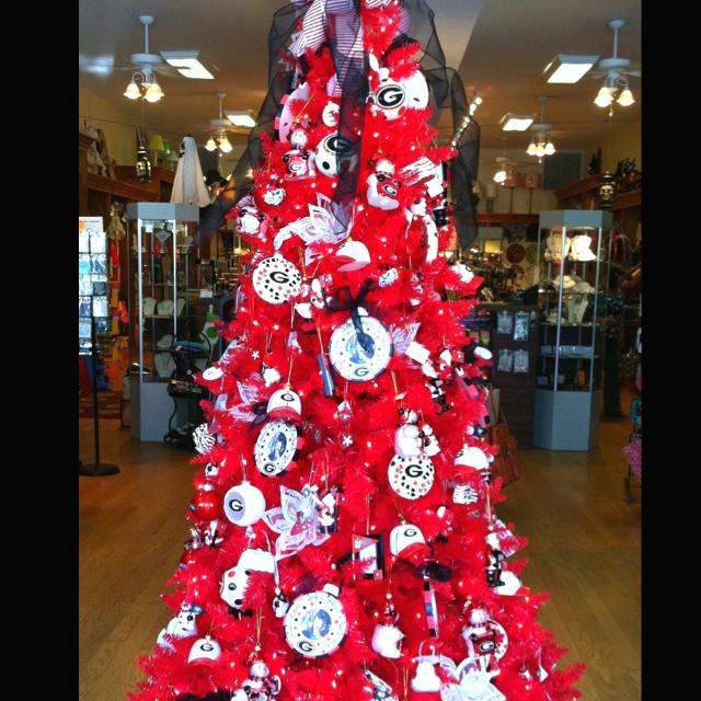 Uga Christmas Tree
