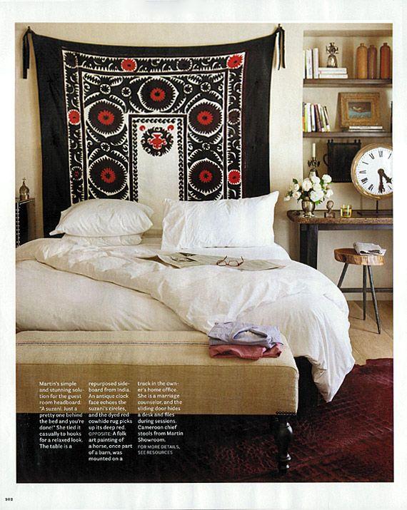 Master Bedroom Headboards best 25+ tapestry headboard ideas on pinterest | white wall