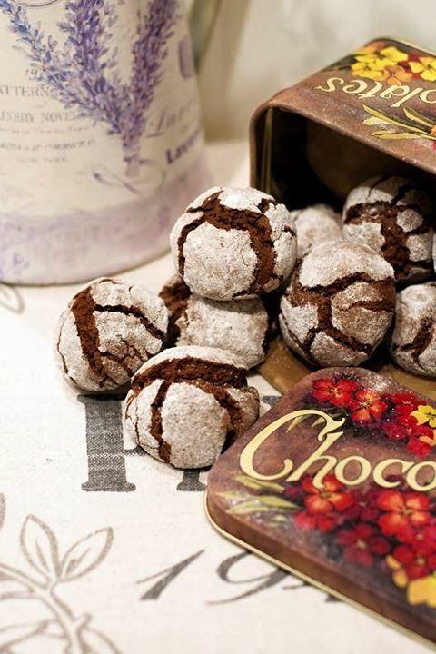 Cokoladove Crinkles