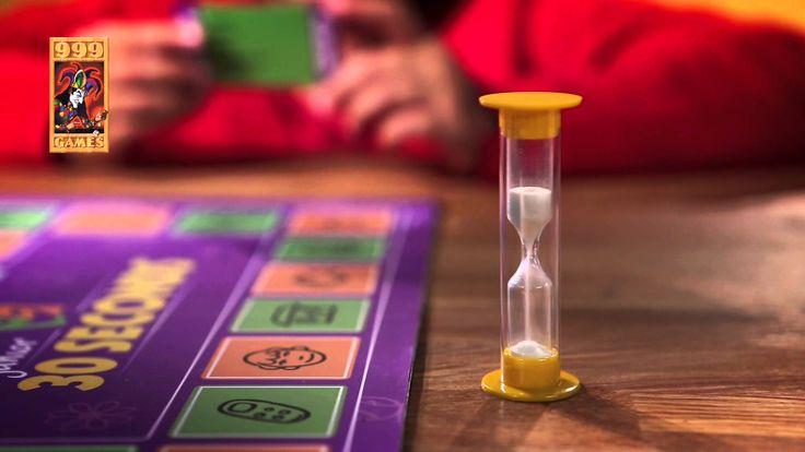 spectaculair partyspel voor teams jong en oud! 30 Seconds van het merk 999 Games.