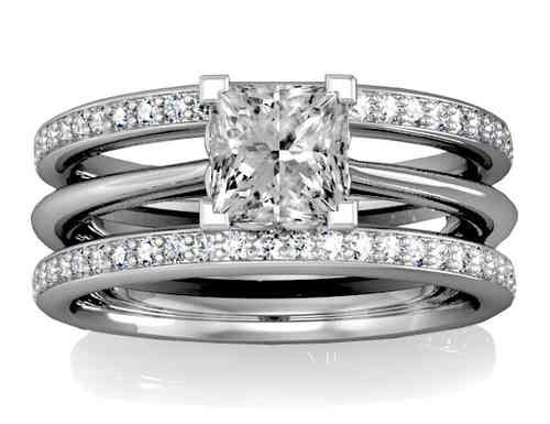 Popular Mens u Womens Platinum Gold Wedding Rings Jewellery of Noble