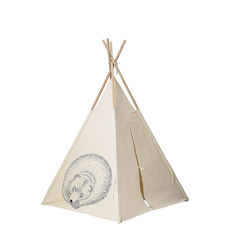 Tipi Tent Slapende Dieren 130x160cm | Diversen Meubels | Sissy-Boy Online store