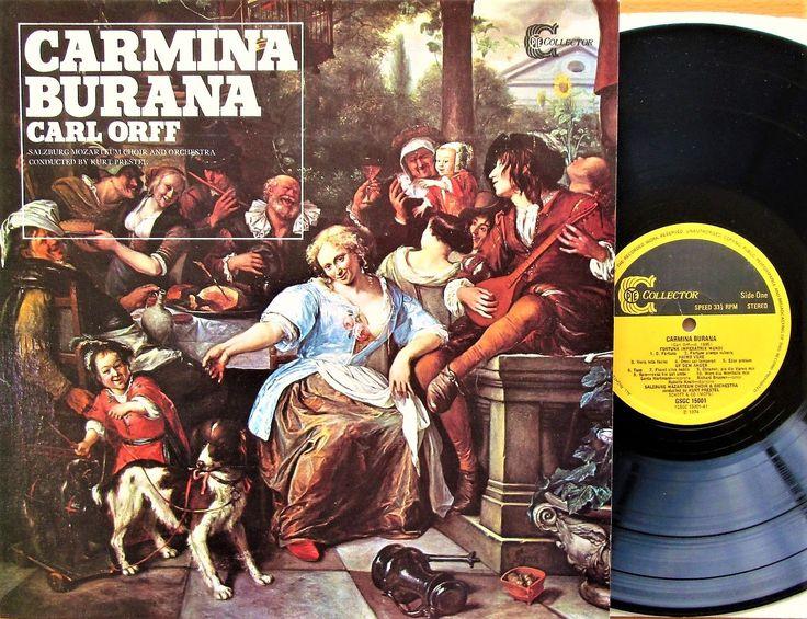 Carmina Burana - Carl Orff - Salzburg Mozarteum Choir And Orchestra - PYE Collector - GSGC 15001 - 1974 -Vinyl, LP, Album, Stereo